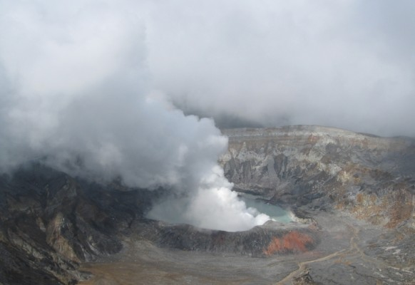 Aktiver Vulkan Costa Rica