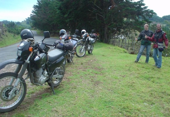 Costa Rica mit dem Motorrad