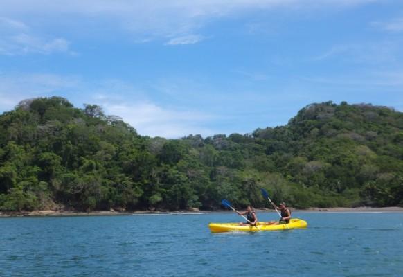 Kanu fahren in Costa Rica