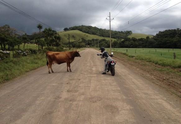 Motorradfahren in Costa Rica