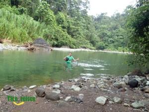 Flussquerung Barbilla