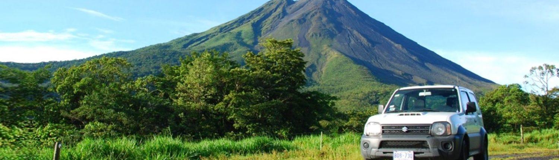 Vulkan Arenal und Jimny