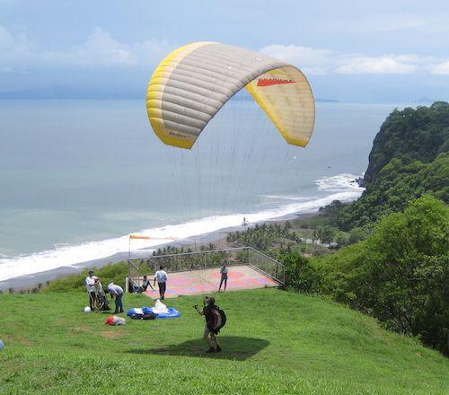 Gleitschirmfliegen Costa Rica