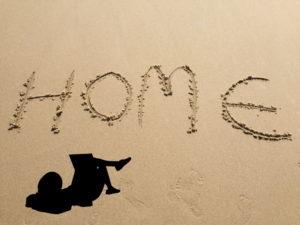 Zuhause am Strand