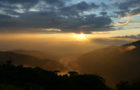 Sonnenuntergang Bergen_z