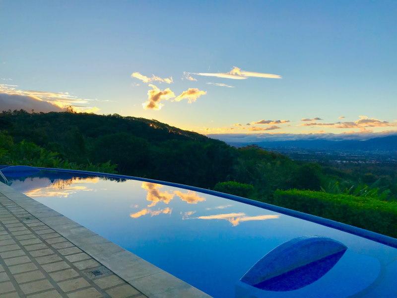 Xandari Sunset Pool