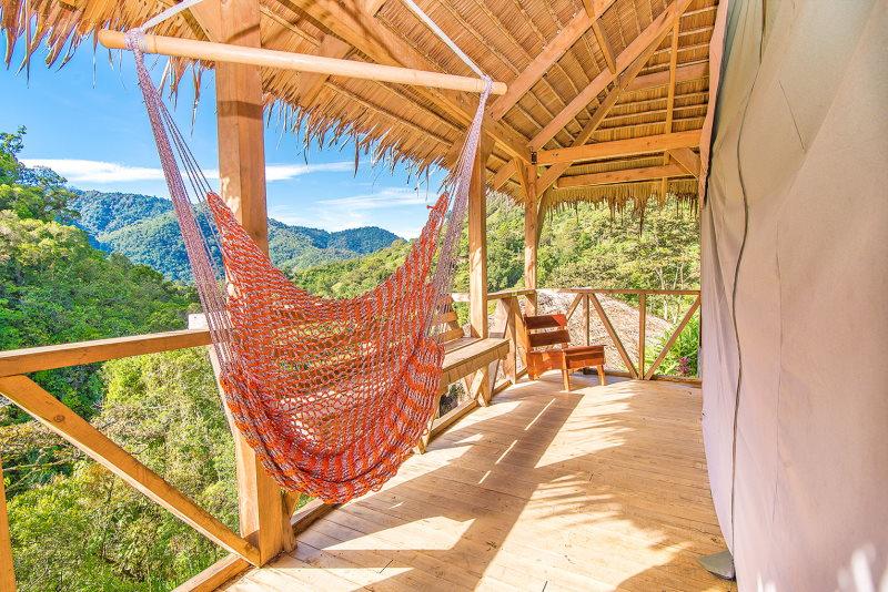 Tami Lodge Balkon